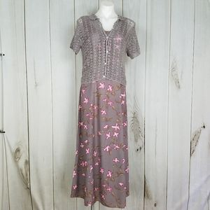 Vintage Country Core Mauve Lavender Almost Maxi